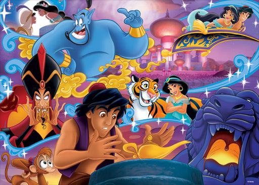 Aladdin Movie Poster 1000 Piece Jigsaw Puzzles - All Jigsaw Puzzles