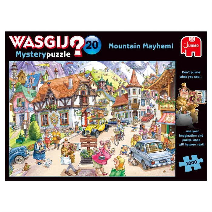 Wasgij Mystery 20 Mountain Mayhem! 1000 Piece Jigsaw Puzzle 1