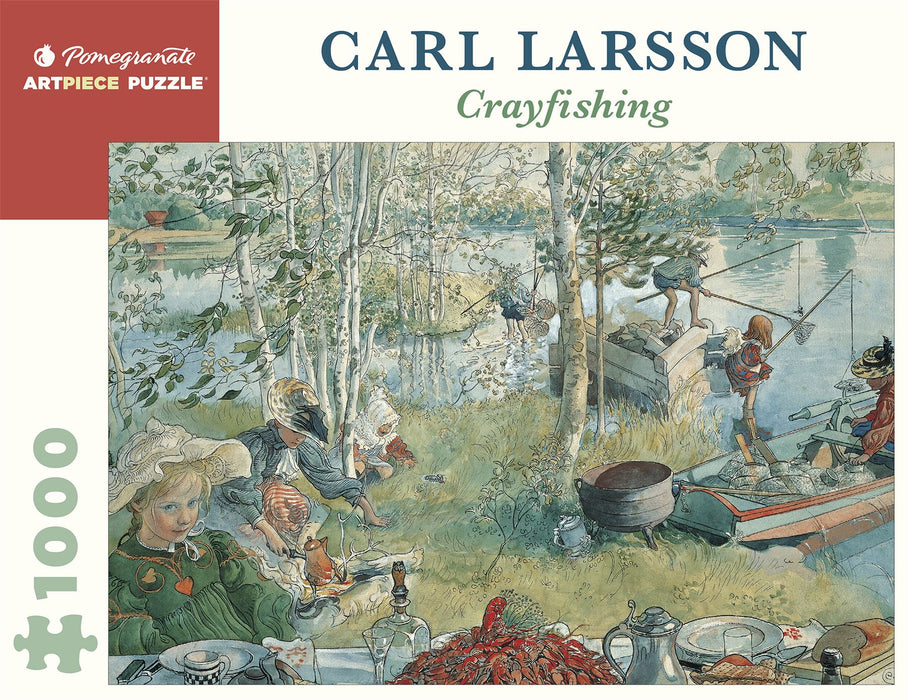 Carl Larsson: Crayfishing 1000 Piece Jigsaw