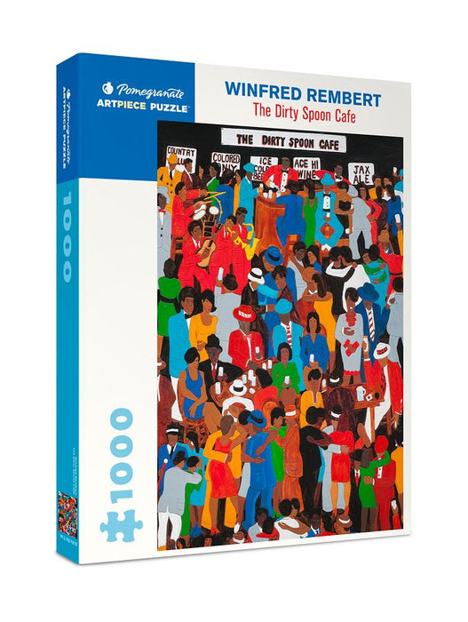 Winfred Rembert: The Dirty Soon Cafe 1000 Piece Jigsaw box 2