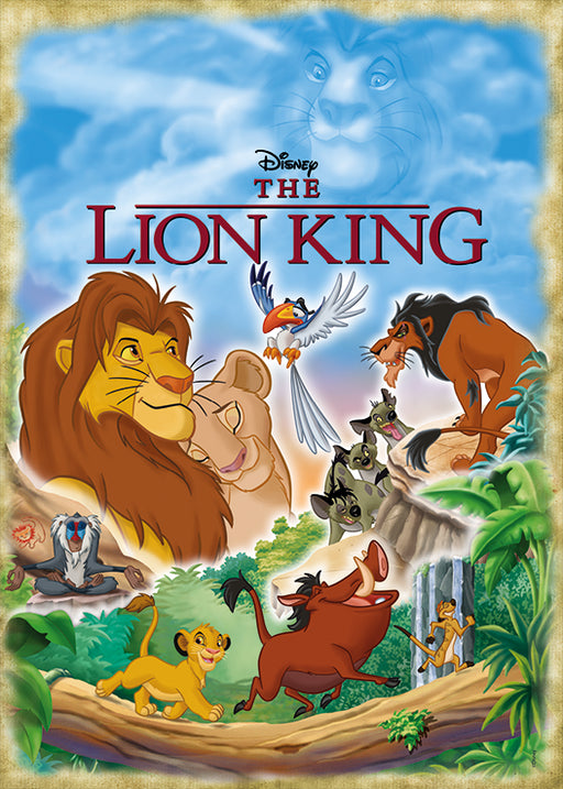 The Lion King Movie Poster 1000 Piece Jigsaw Puzzle - All Jigsaw Puzzles