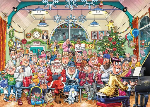 Wasgij Christmas 16 'The Christmas Show!' 1000 Piece Jigsaw Puzzle