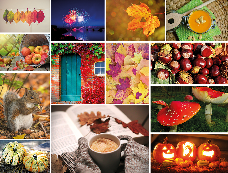 Cosy Autumn 1000 Piece Jigsaw Puzzle - All Jigsaw Puzzles
