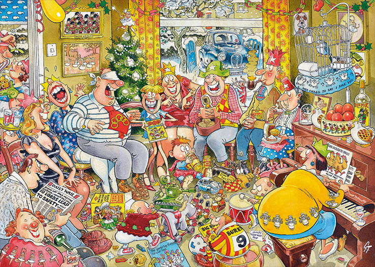 Graham Thompson - 12 Days of Christmas 1000 Piece Jigsaw Puzzle - All Jigsaw Puzzles