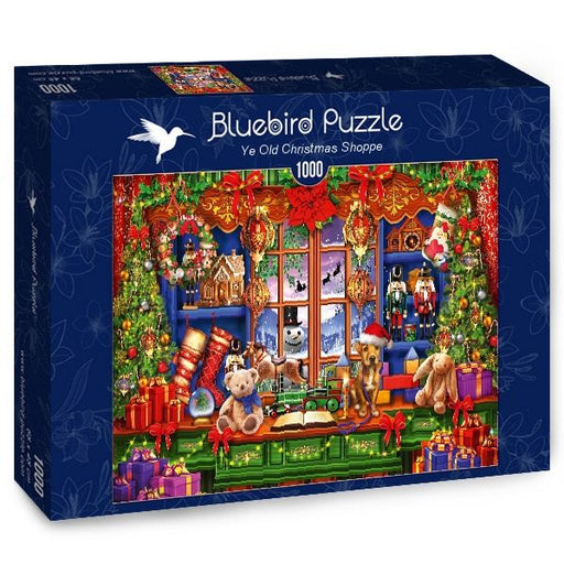 Ye Old Christmas Shoppe 1000 Piece Jigsaw Puzzle box