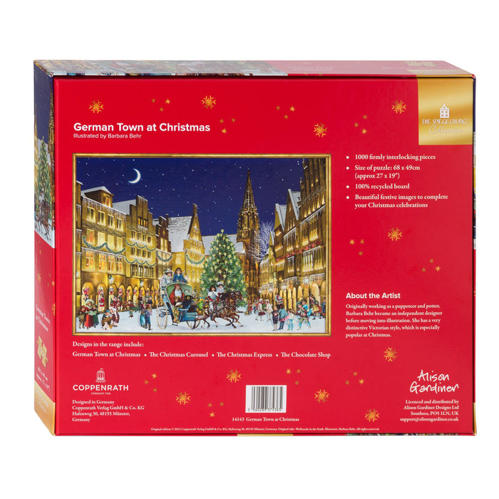 The German Town - Coppenrath 1000 Piece Jigsaw Puzzle back