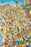 Day at the Beach - Len Epstein - 300 Piece Wooden Jigsaw Puzzle - All Jigsaw Puzzles