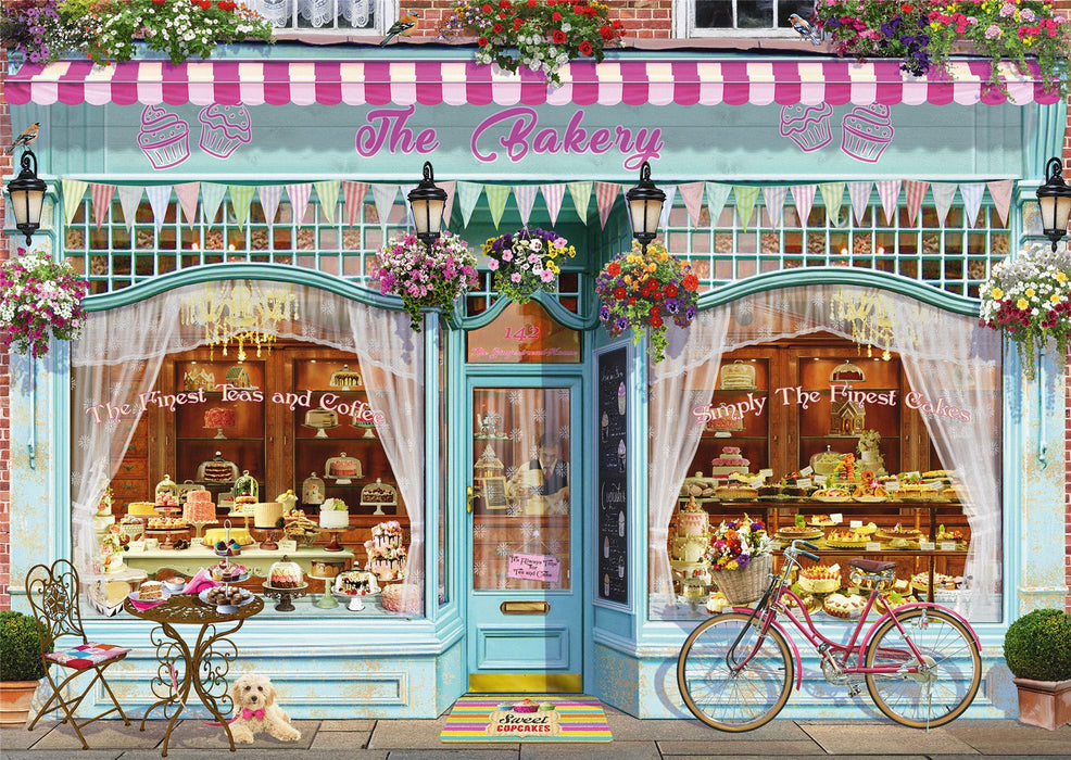 Garry Walton - Bakery 1000 Piece Jigsaw Puzzle - All Jigsaw Puzzles
