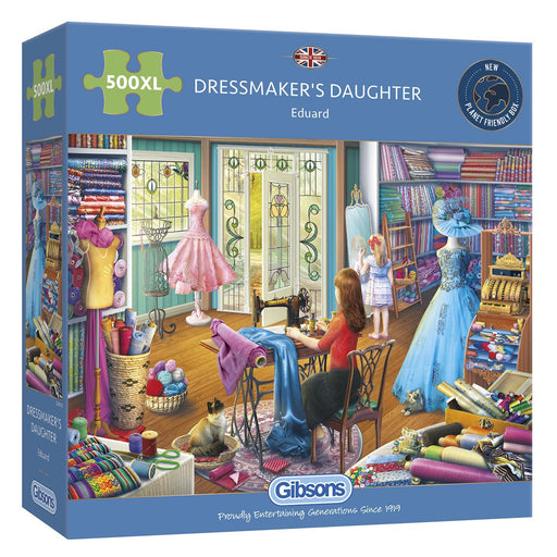New 2020 Gibsons The Dressmaker's Daughter 500XL piece Jigsaw Puzzle - All Jigsaw Puzzles
