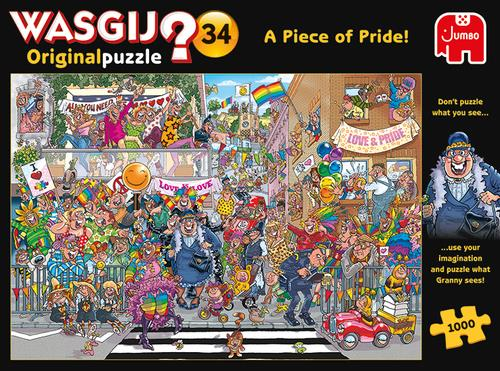 Wasgij Original 34 'A Piece of Pride' 1000 Piece Jigsaw Puzzle