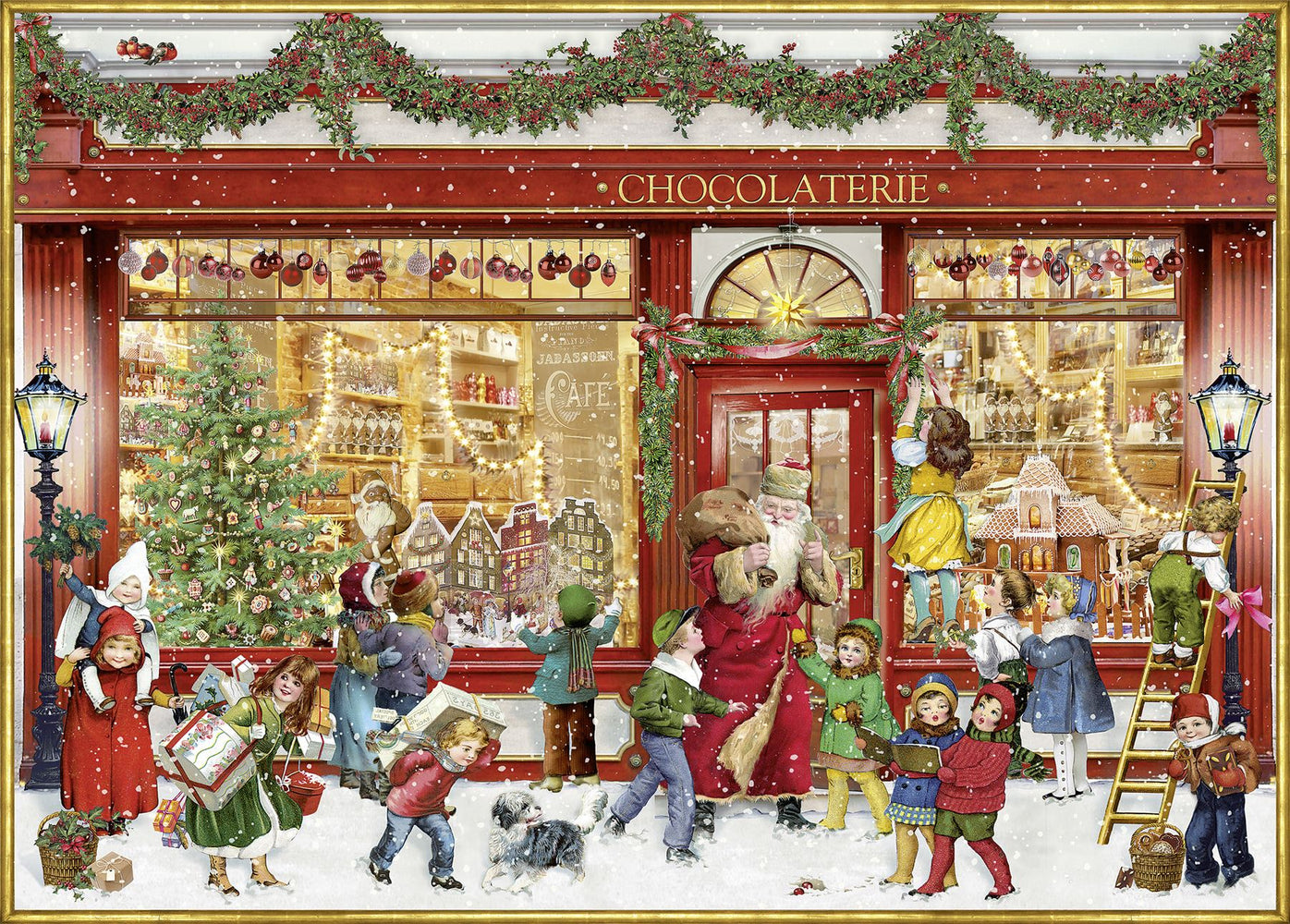 The Chocolate Shop - Coppenrath 1000 Piece Jigsaw Puzzle