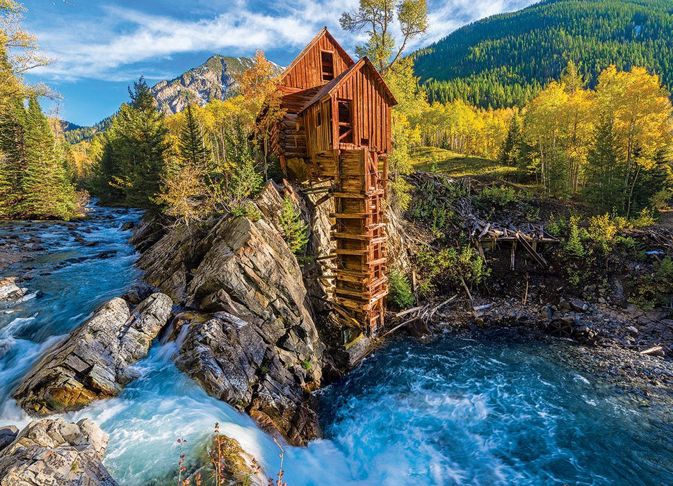 Crystal Mill 1000 Piece Jigsaw Puzzle