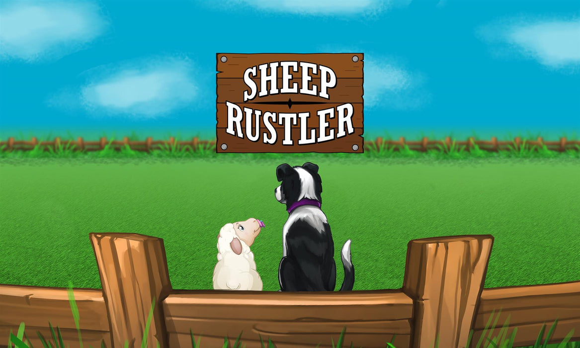 Sheep Rustler Board Game by R.W.Butler Games - All Jigsaw Puzzles