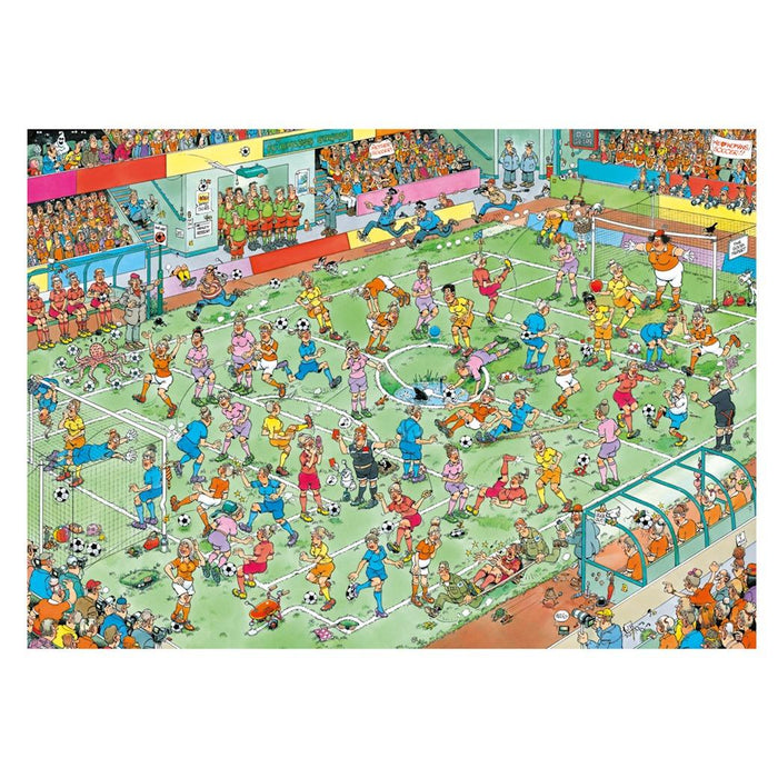 World Championships Womens Soccer - Jan Van Haasteren 1000 Piece Jigsaw Puzzl