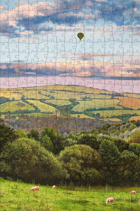 Hot Air Balloon 300 Piece Wooden Jigsaw Puzzle - All Jigsaw Puzzles