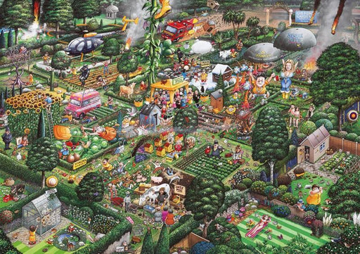 I Love Gardening 1000 Piece Jigsaw Puzzle - All Jigsaw Puzzles