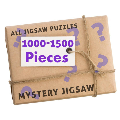 1000-1500 pc Mystery Bargain - All Jigsaw Puzzles