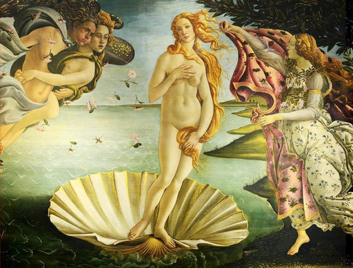 Birth of Venus by Botticelli 1000 or 500 Piece Jigsaw Puzzles - All Jigsaw Puzzles