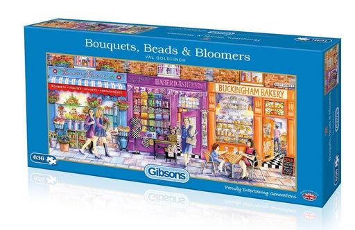 Bouquets, Beads and Bloomers - Val Goldfinch 636 Piece Jigsaw Puzzle - All Jigsaw Puzzles