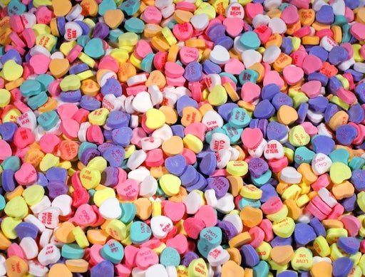 Candy Hearts - Impuzzible - 1000 piece jigsaw puzzle - All Jigsaw Puzzles