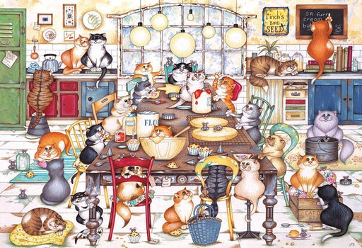 Cat's Cookie Club 250XL Piece Jigsaw Puzzle - All Jigsaw Puzzles