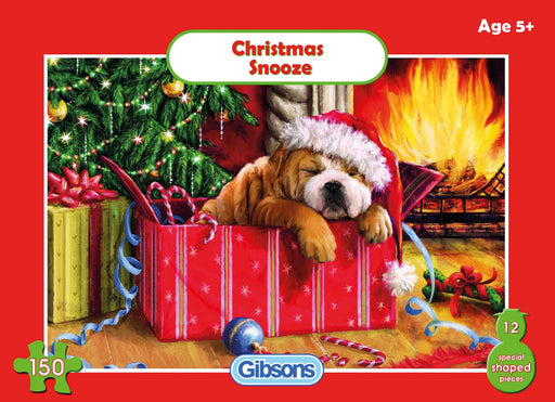 Christmas Snooze 150 Piece Jigsaw Puzzle - All Jigsaw Puzzles