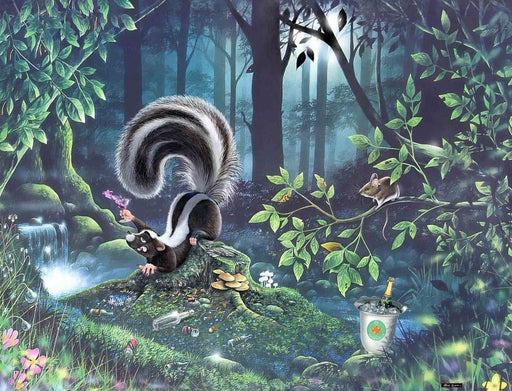 Drunk as a Skunk - Mike Jupp 1000 or 500 Pieces Jigsaw Puzzles - All Jigsaw Puzzles