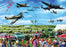 Family Airshow 1000 Piece Jigsaw Puzzle - All Jigsaw Puzzles