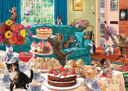 Feline Frenzy 1000 Piece Jigsaw Puzzle - All Jigsaw Puzzles