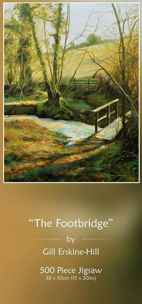 Footbridge Jigsaw Puzzle - Gill Erskine-Hill - All Jigsaw Puzzles