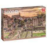 Jigsaw Puzzle - Forum Romanum, Rome - Jumbo Premium Collection 5000 Piece Jigsaw Puzzle