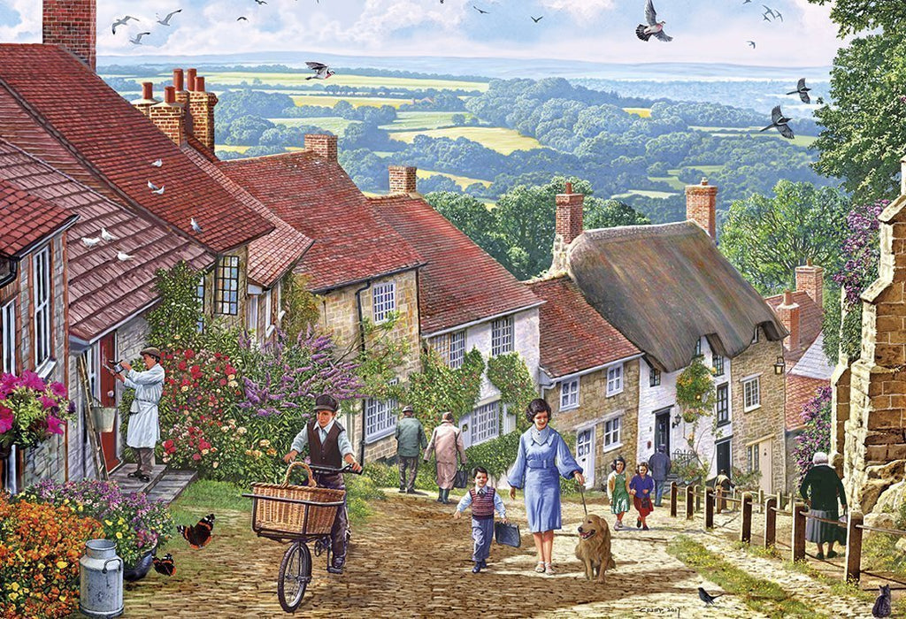 Gold Hill 1000 Piece Jigsaw Puzzle - All Jigsaw Puzzles