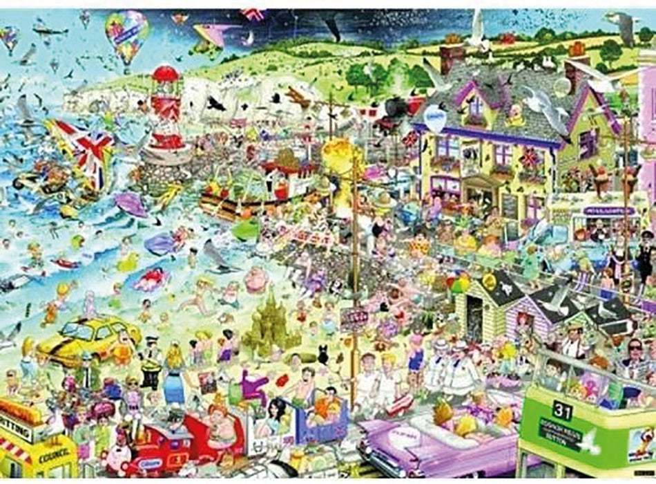 I Love Summer - 1000 Piece Mike Jupp Jigsaw Puzzle - All Jigsaw Puzzles