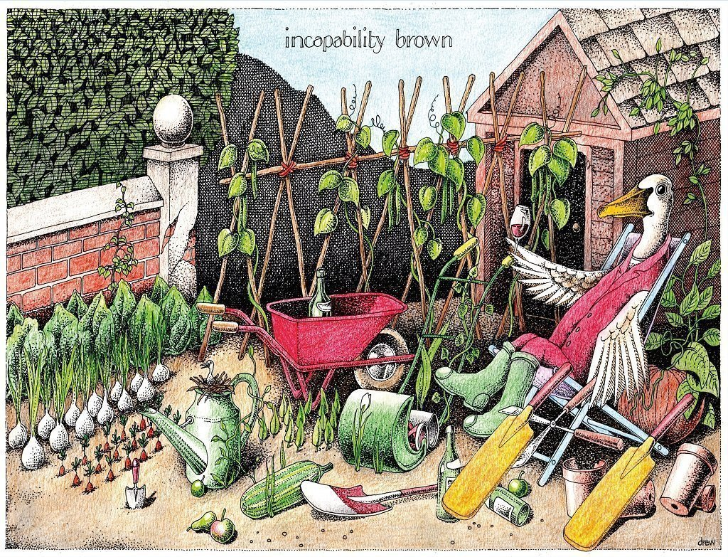 Incapability Brown - Simon Drew - 1000 or 500 piece jigsaw puzzle - All Jigsaw Puzzles