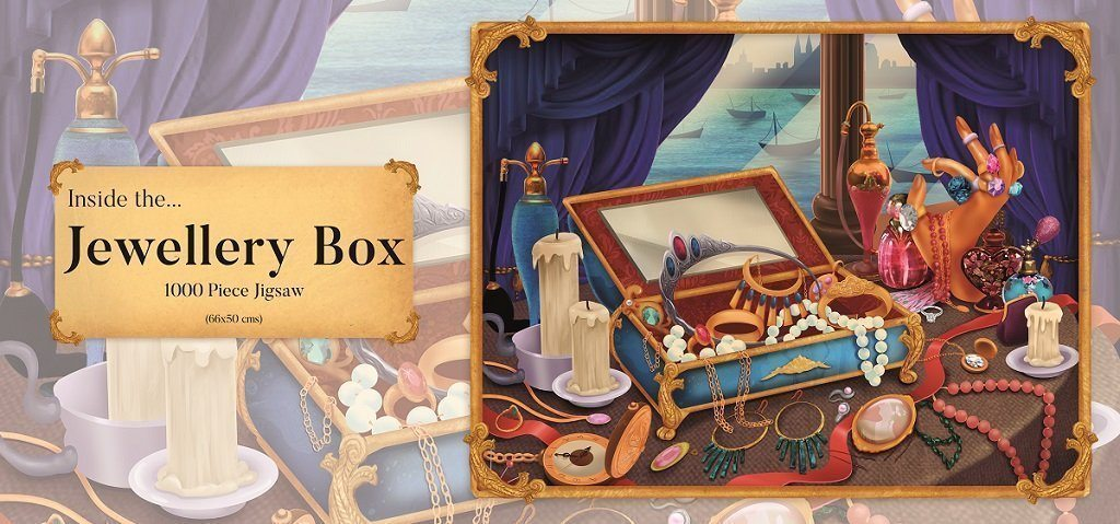 Inside the Jewellery Box 1000 Piece Jigsaw Puzzle - All Jigsaw Puzzles