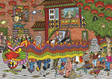 Jan van Haasteren - Chinese New Year 500 Piece Jigsaw Puzzle - All Jigsaw Puzzles UK  - 1