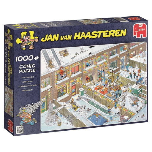 Jan van Haasteren - Christmas Eve 1000 Piece Jigsaw Puzzle - All Jigsaw Puzzles