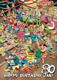 Jan Van Haasteren Happy Birthday Jan! 1000 Piece Jigsaw Puzzle - All Jigsaw Puzzles UK  - 1