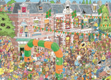 Jan van Haasteren Nijmegen Marches 1000 Piece Jigsaw Puzzle - All Jigsaw Puzzles UK  - 1