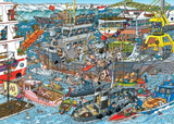 Jigsaw Puzzle - Jan Van Haasteren Sea Port 500 Piece Jigsaw Puzzle