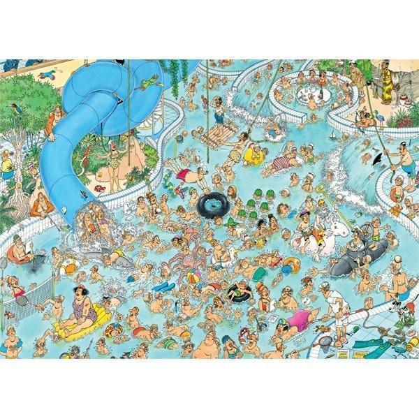Jan van Haasteren Wacky Water World - 1500 piece Jigsaw Puzzle - All Jigsaw Puzzles