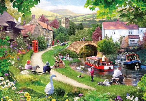 Life In The Slow Lane 1000 Piece Jigsaw Puzzle - All Jigsaw Puzzles UK  - 1