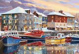 Jigsaw Puzzle - Padstow In Winter - Terry Harrison 250 XL Piece Jigsaw Puzzle
