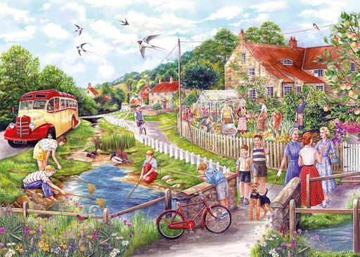 Jigsaw Puzzle - Summer By The Stream 250XL Jigsaw Puzzle