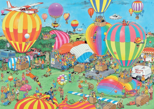 The Balloon Festival - Jan van Haasteren 1000 Piece Jigsaw Puzzle - All Jigsaw Puzzles