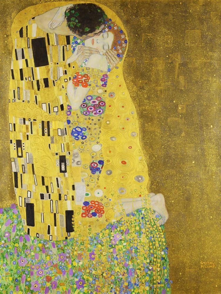 The Kiss by Gustav Klimt 1000 or 500 Pieces Jigsaw Puzzles - All Jigsaw Puzzles