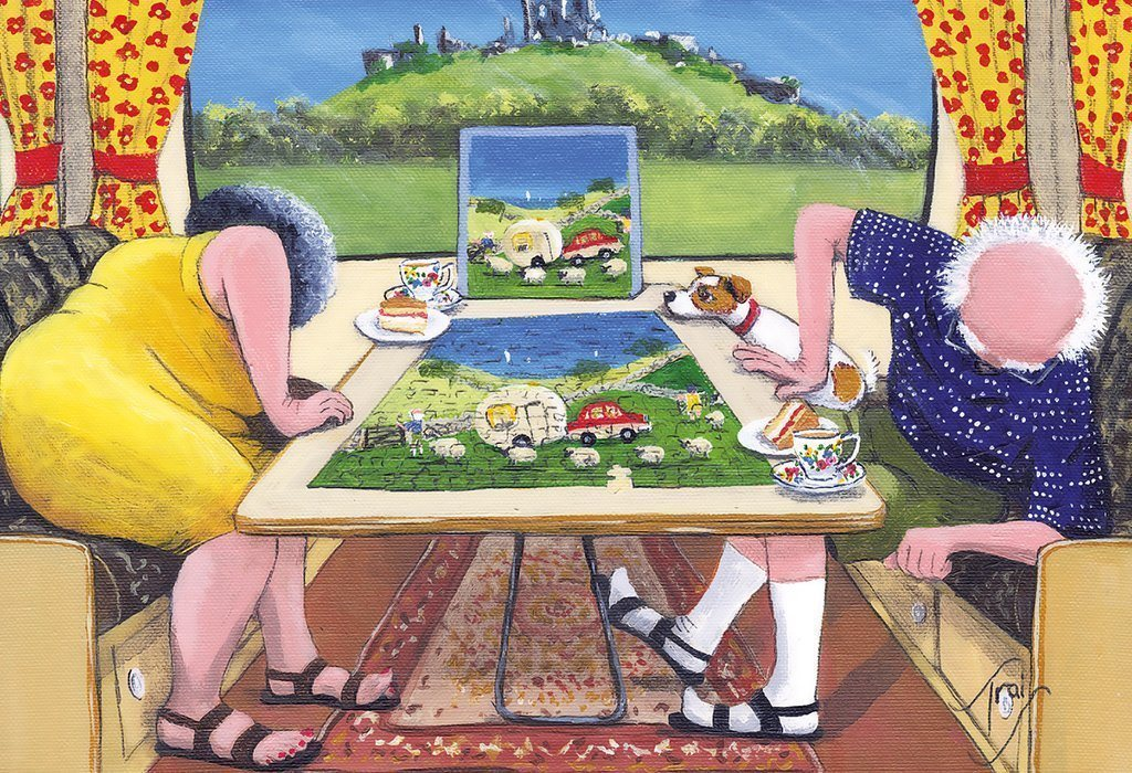 The Missing Piece 500 Jigsaw Puzzle