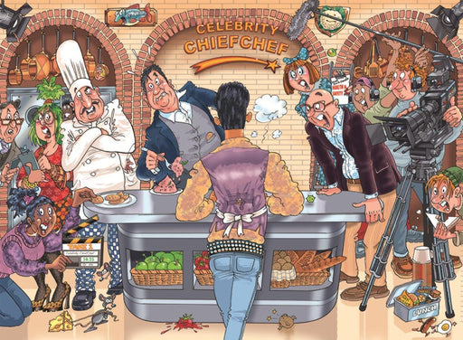 Wasgij 26 Original: Celebrity Chief Chef! 1000 Piece Jigsaw Puzzle - All Jigsaw Puzzles