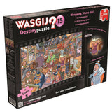 Wasgij Destiny 15 - Shopping Shake-Up! 1000 Piece Jigsaw Puzzle - All Jigsaw Puzzles UK  - 2