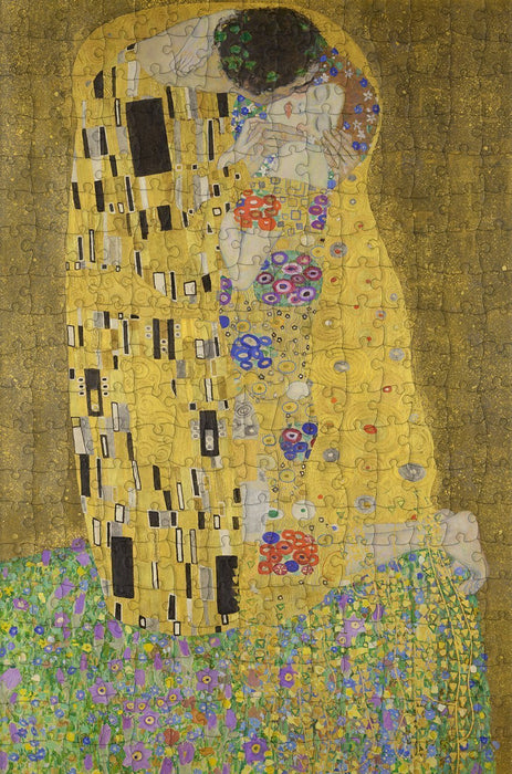 The Kiss by Gustav Klimt 300 Piece Jigsaw Puzzle - All Jigsaw Puzzles